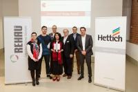 Компании REHAU и Hettich приглашают студентов на международный конкурс мебельного дизайна