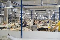 Глава района Игорь Красавин посетил в Ногинске производство мягкой мебели